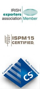 Memberships & Accreditations: Member of the Irish Exporter's Association, ISPM15 & Construct Secure Certified